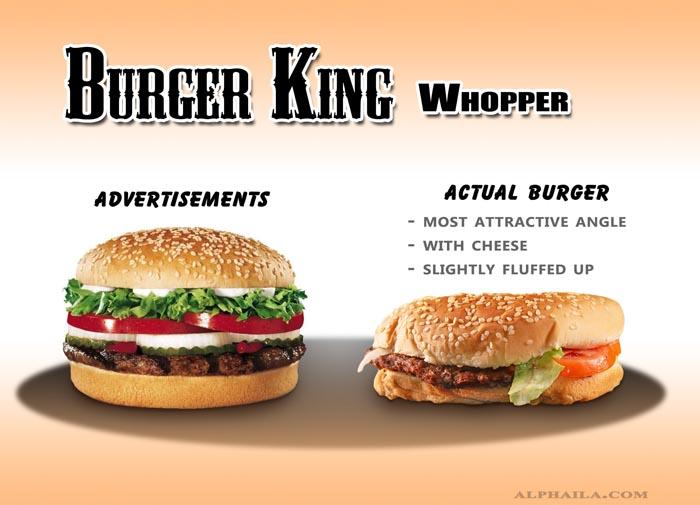Burger King - Whopper 1