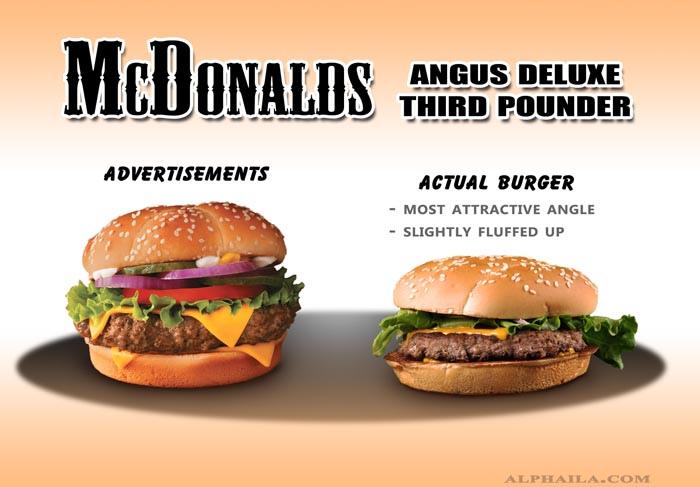McDonalds - Angus Deluxe Third Pounder