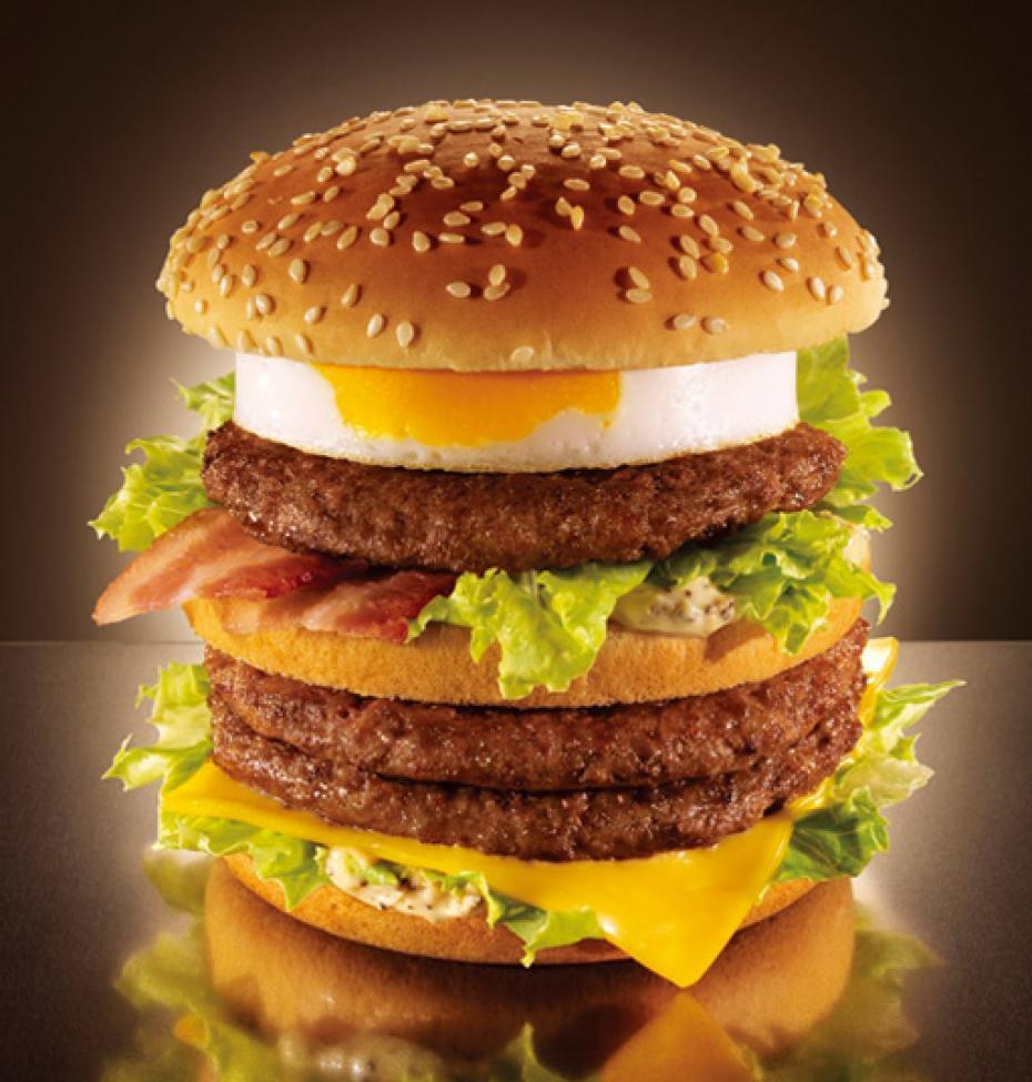 McDonald's Mega Tomago in Japan
