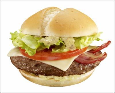 McDonald's New York Burger in Japan