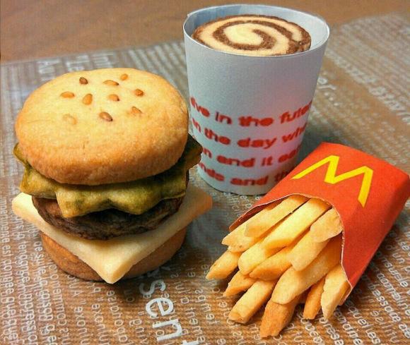 McDonald's cookie meal