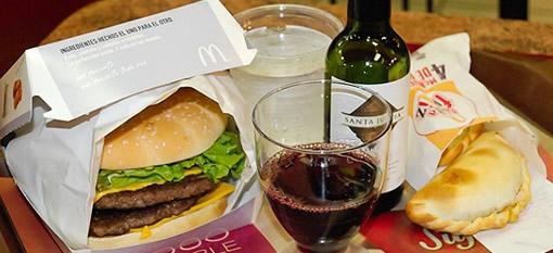 McDonalds wine