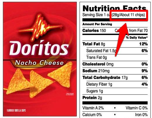 Nacho Cheese Doritos