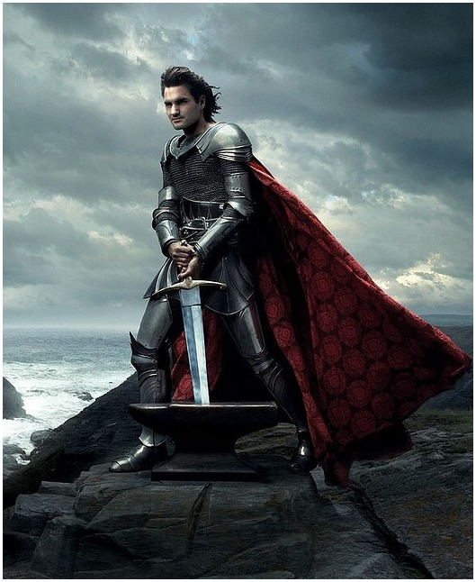 Roger Federer as King Arthur