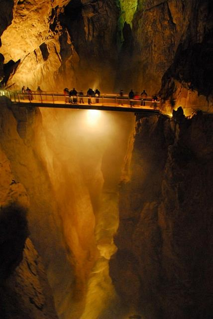 Slovenian Caves - the Grand Canyon of the underground