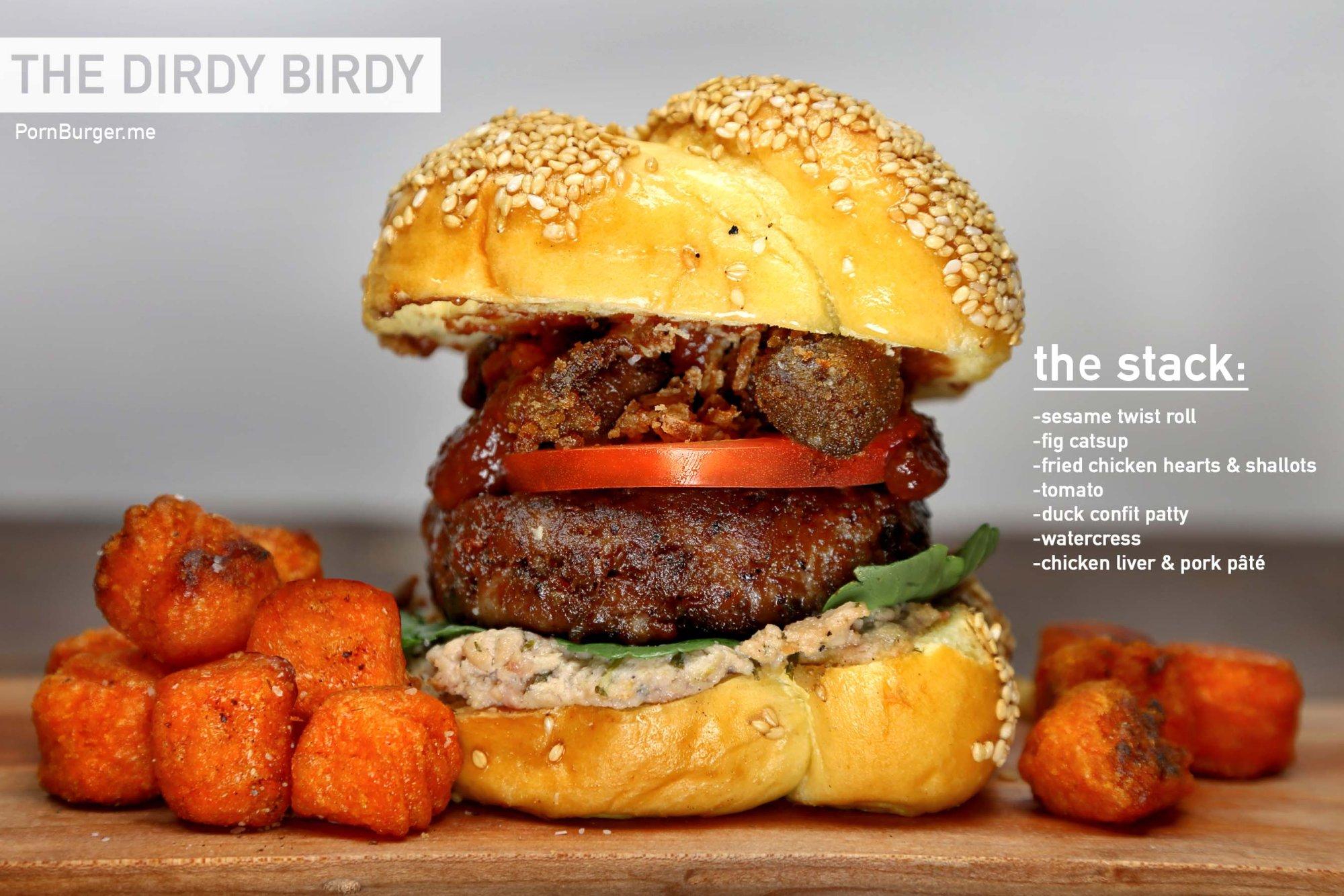 The Dirdy Birdy Burger