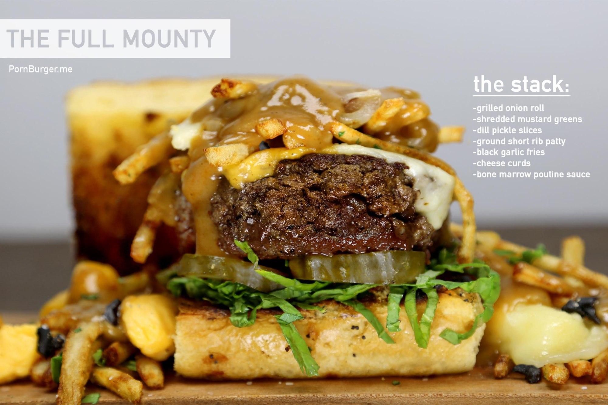 The Full Mounty Burger