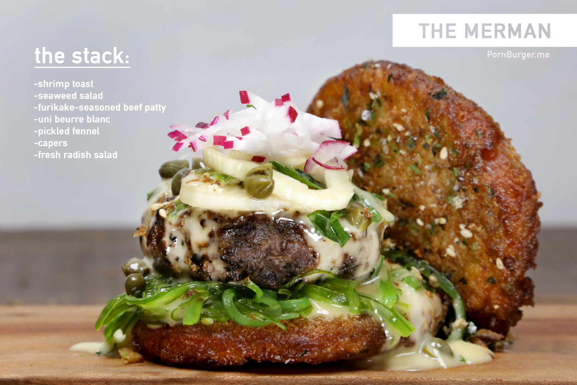 The Merman Burger