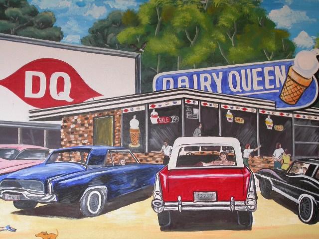 Dairy Queen painting