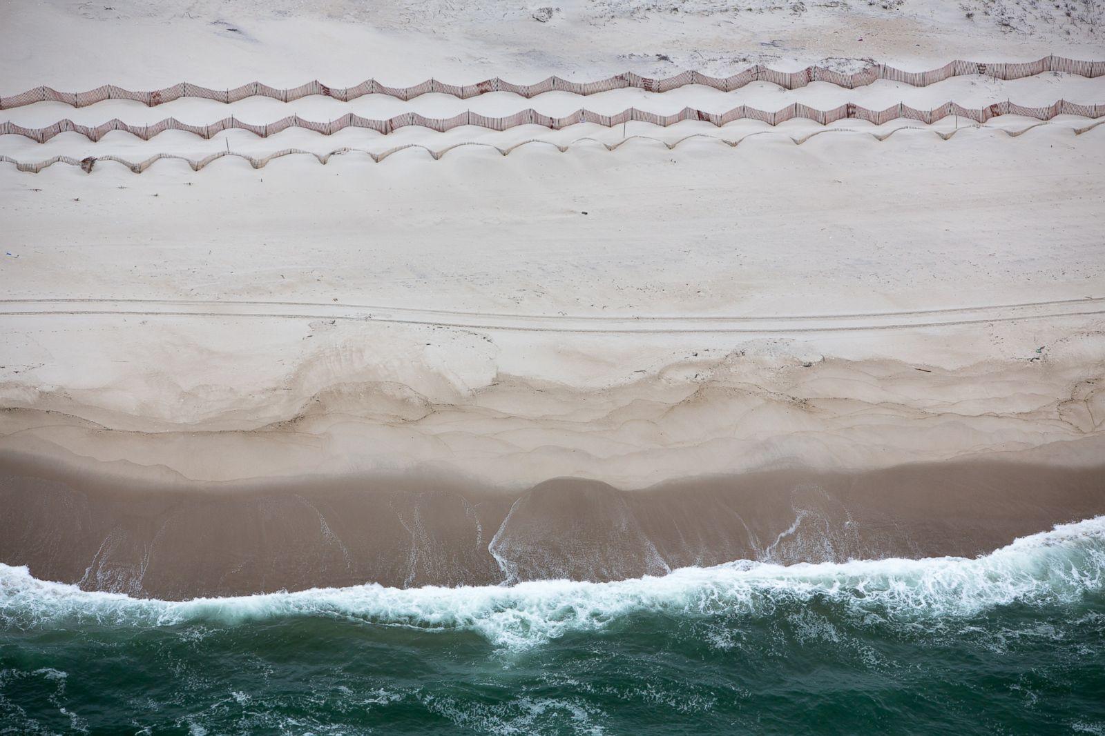 Estuarine sand plumes in Wellfleet, Massachussetts