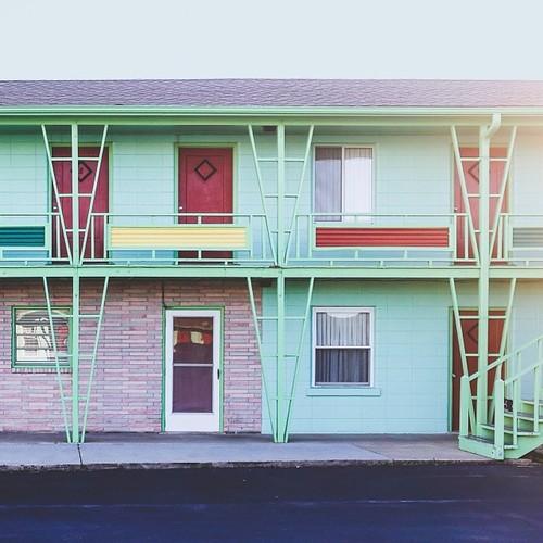 Find Momo at a motel! (at Moran Motel)