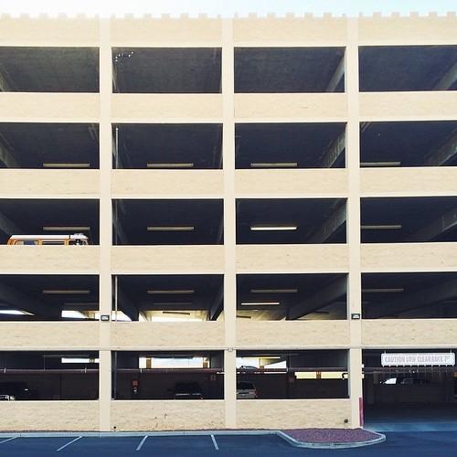 Find Momo in a parking garage!