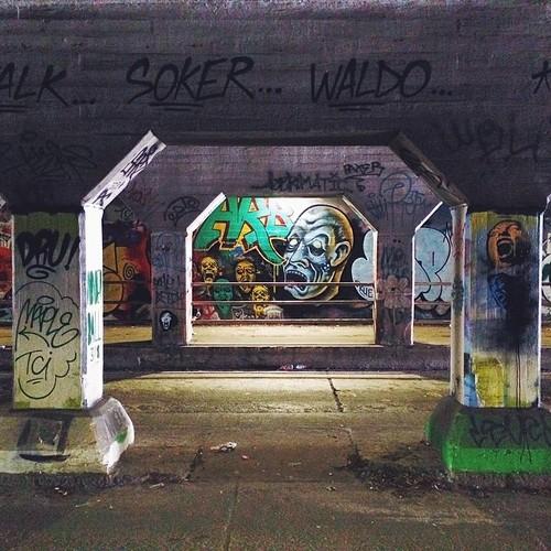 Find Momo in the Krog Street tunnel!