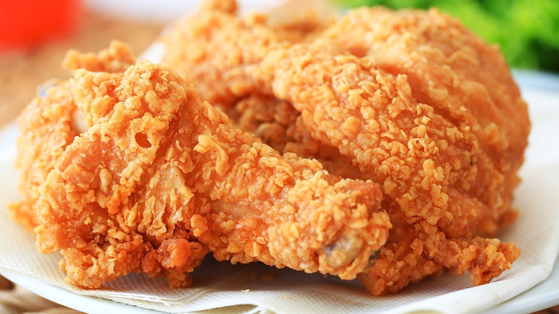 KFC fried chicken