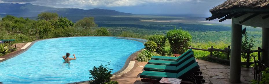 Lake Manyara Serena Lodge in Tanzania, Africa