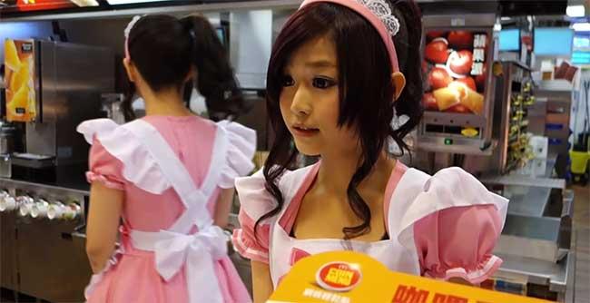 McDonald's Taipei Maid Cashier