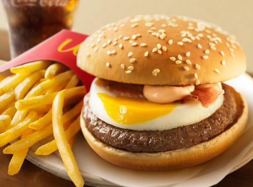McDonald's egg