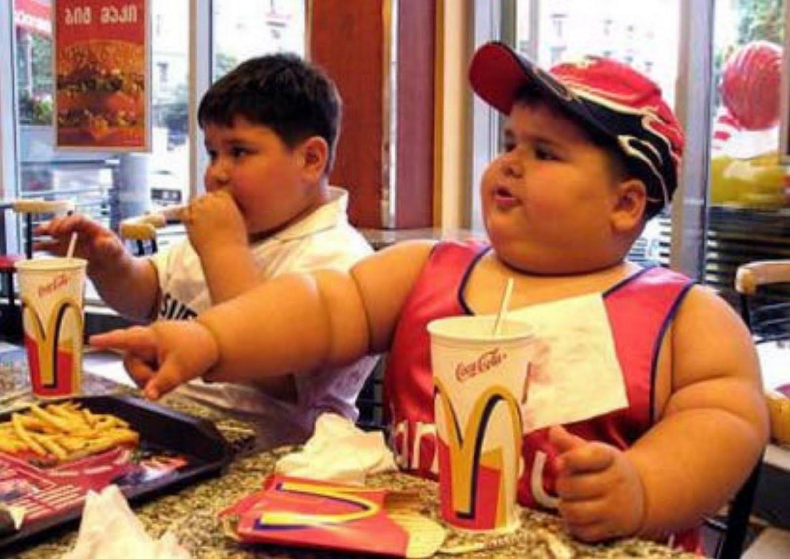 McDonald's fat children