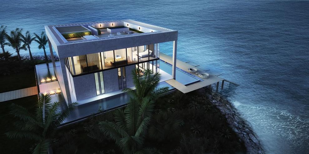 Nurai Island Resort in Abu Dhabi