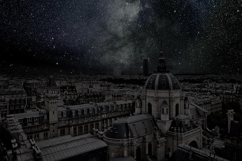 Viralscape Cities Without Lights - 1. Paris