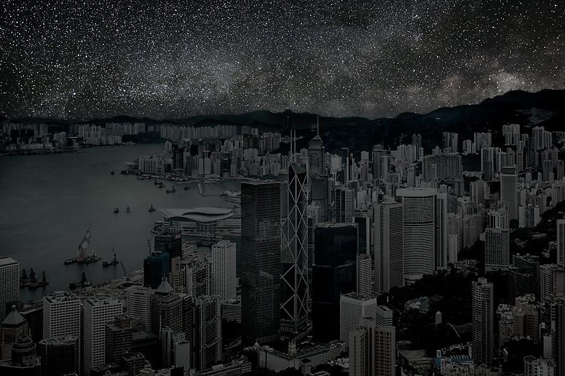 Viralscape Cities Without Lights - 10. Hong Kong