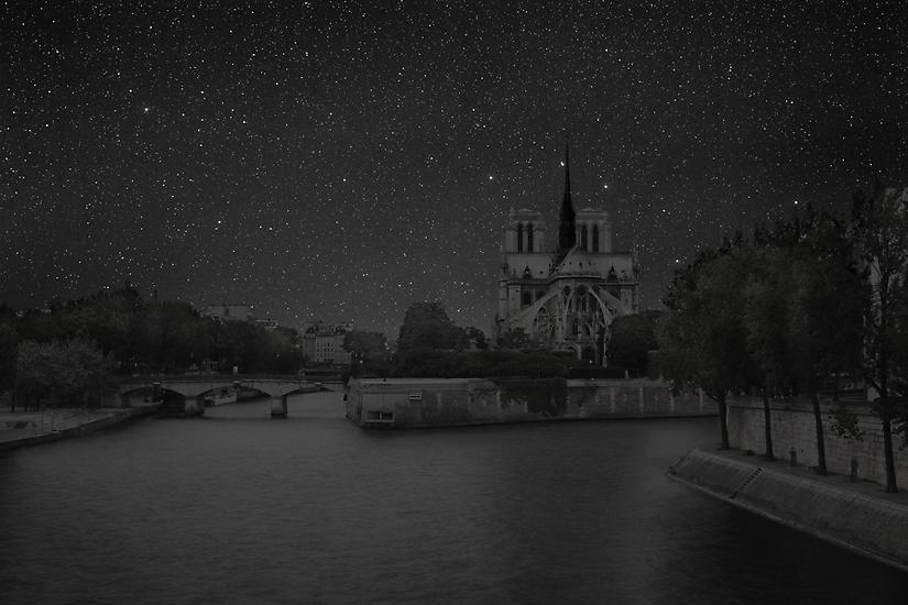Viralscape Cities Without Lights - 14. Paris