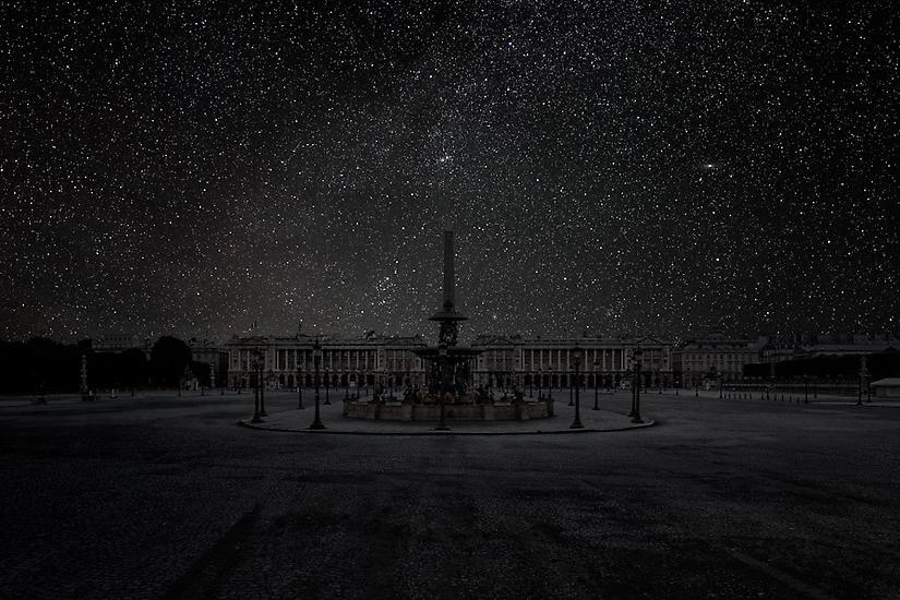Viralscape Cities Without Lights - 15. Paris