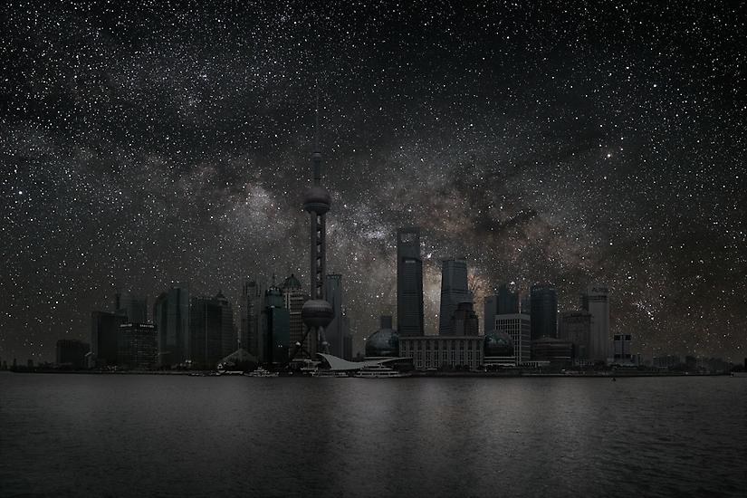 Viralscape Cities Without Lights - 16. Shanghai