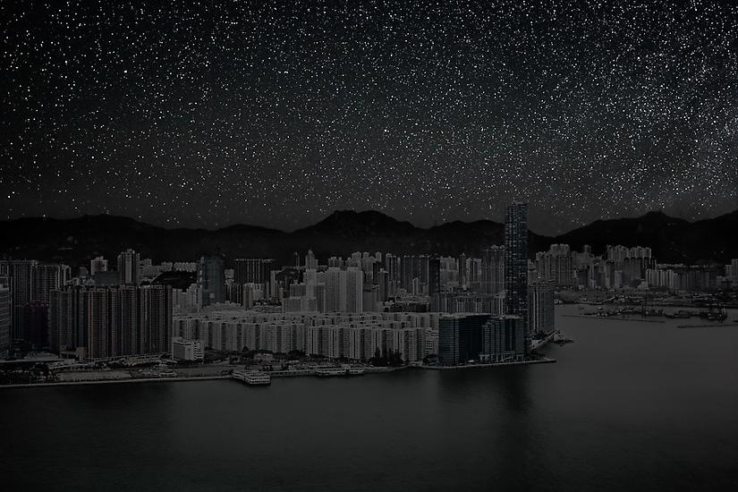 Viralscape Cities Without Lights - 9. Hong Kong