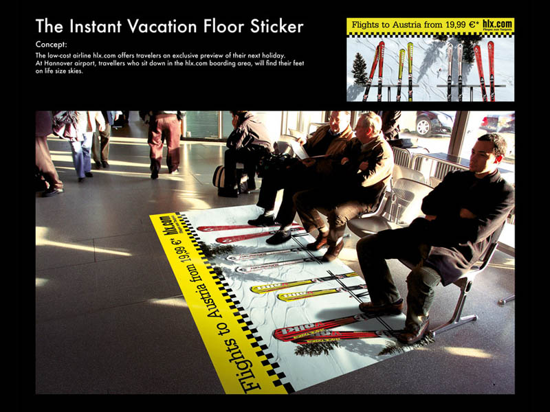creative-floor-decal-with-skis-turns-chairs-into-chair-lift