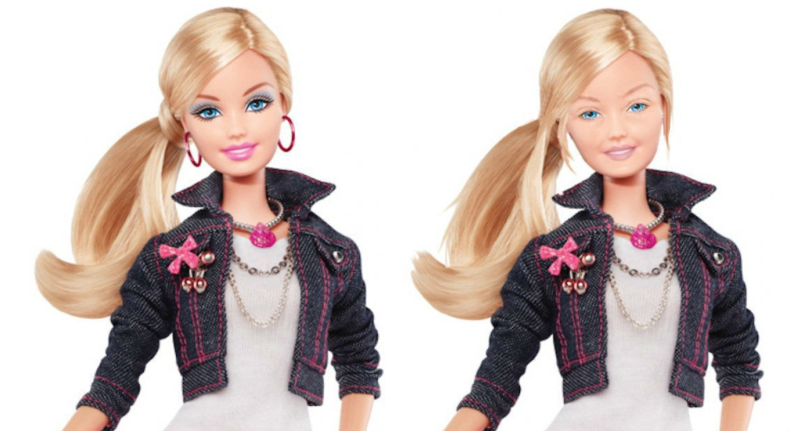 Barbie Without Her Makeup