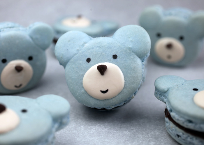 Blue Bear Macarons