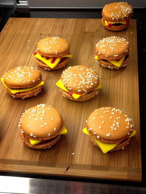 Cheeseburger Macarons