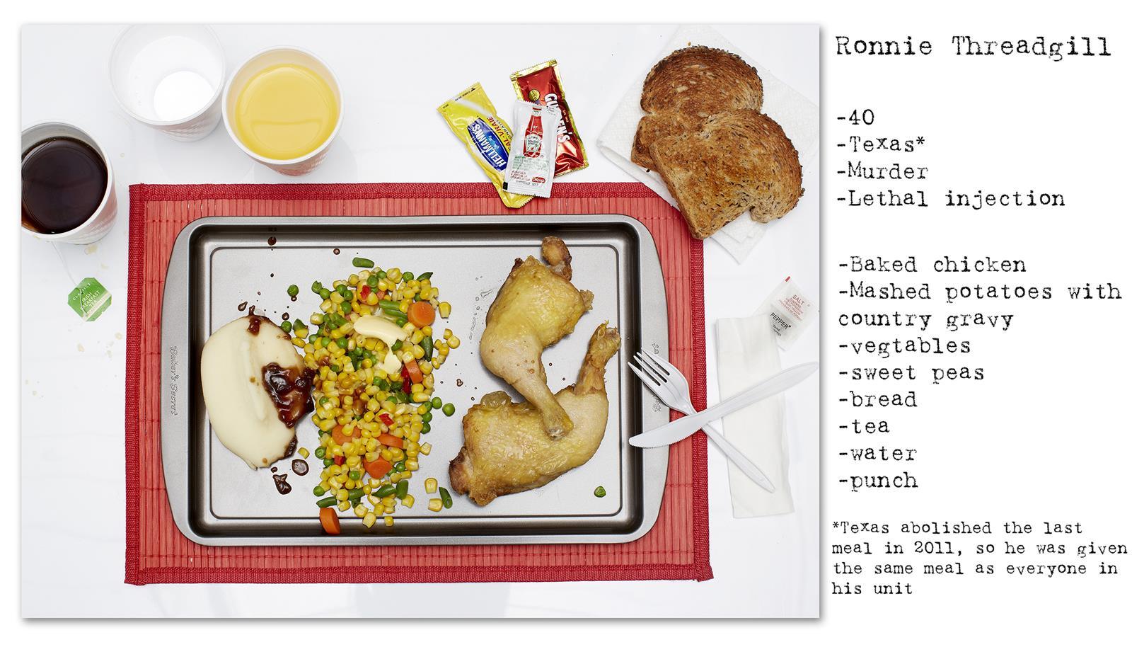 Death Row Prisoner's Last Meal (2)