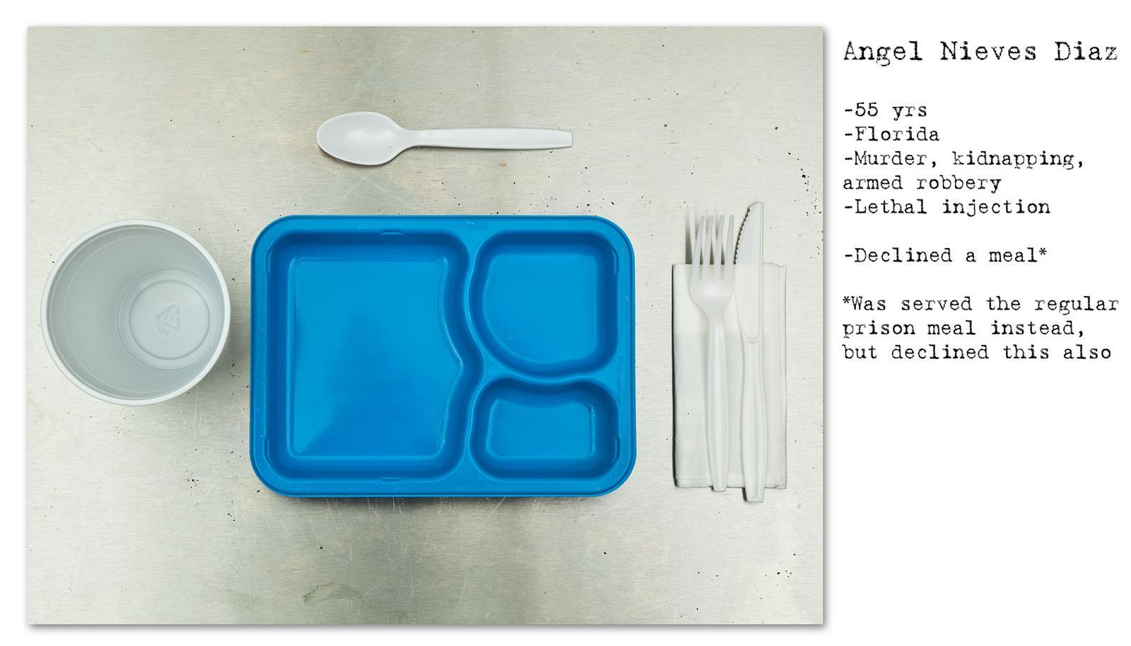 Death Row Prisoner's Last Meal (4)