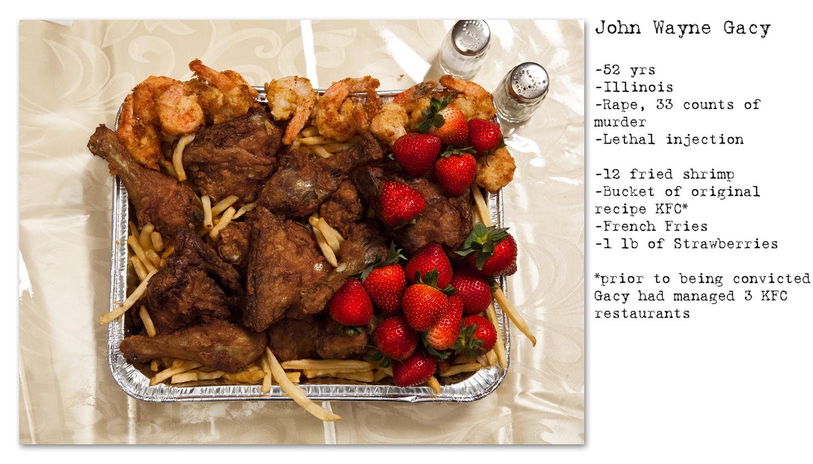 Death Row Prisoner's Last Meal (6)