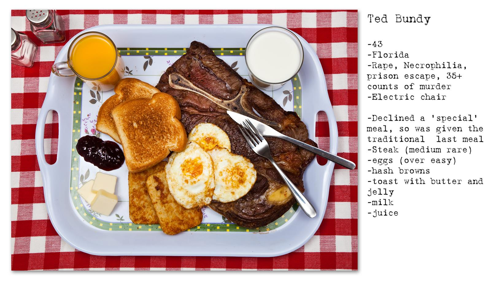 Death Row Prisoner's Last Meal (9)