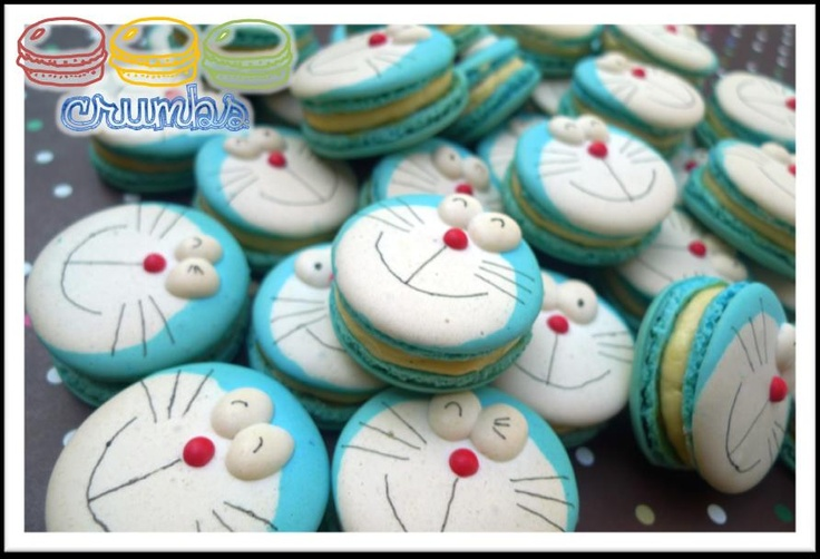 Doraemon Macarons