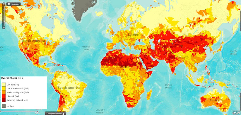 Drought Risk Around The World