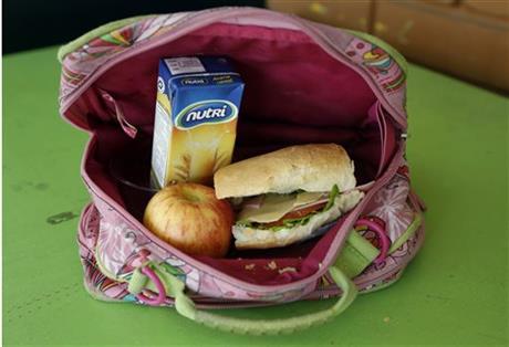 Ecuador school lunch
