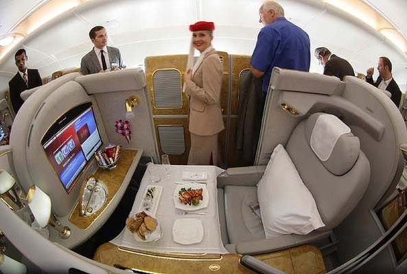 Emirates First Class Suite On A380