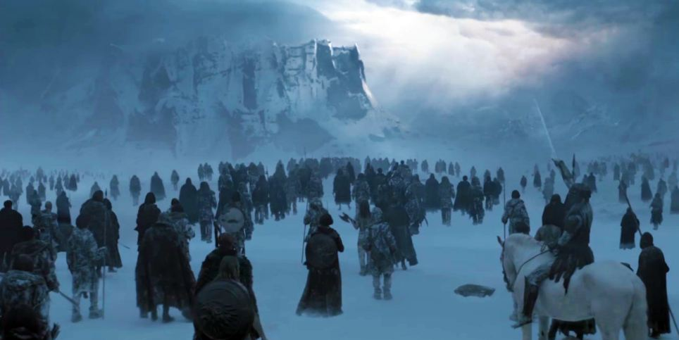 Game of Thrones - Beyond the Wall area in Westeros