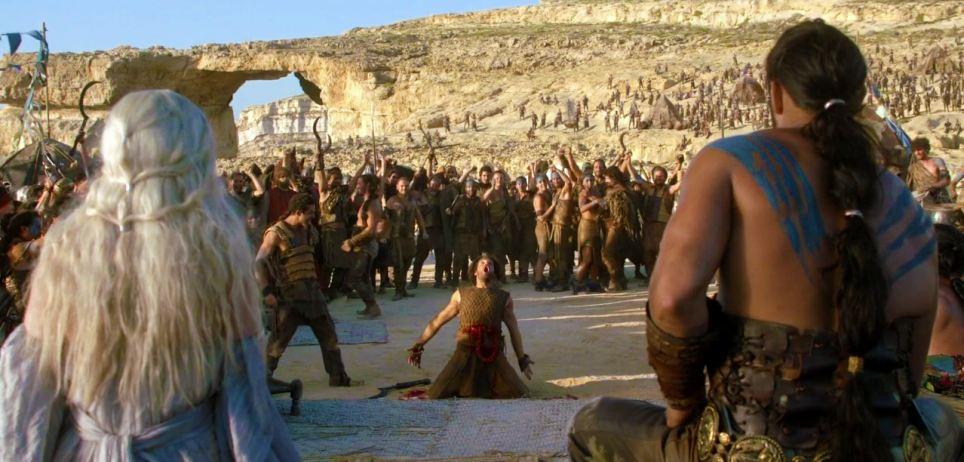 Game of Thrones -  Daenerys and Khal Drogo wedding