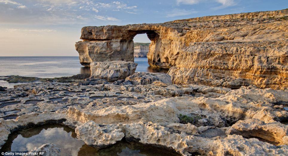 Game of Thrones Filming Location - Azure Window, in Gozo, Malta