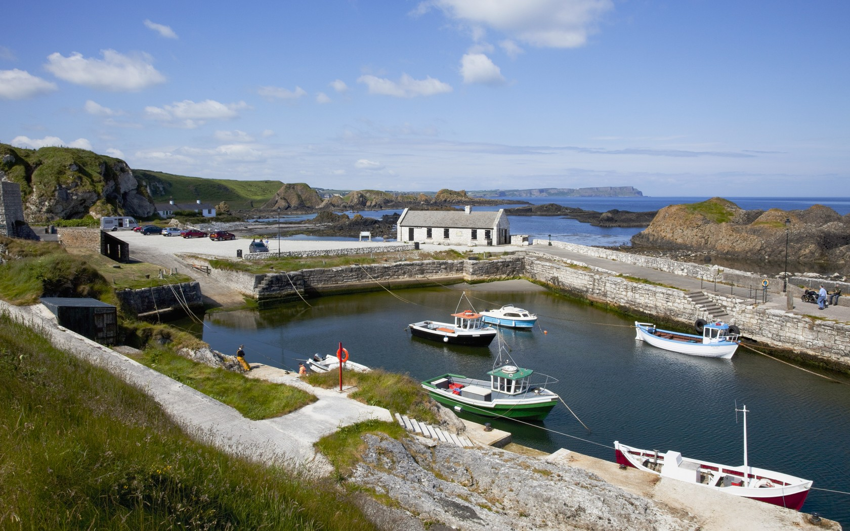 Game of Thrones Filming Location - Ballintoy Harbour, Northern Ireland