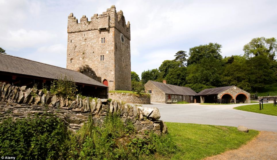 Game of Thrones Filming Location - Stangford Castle Ward Estate and the Castle Ward tower in County Down, Northern Ireland