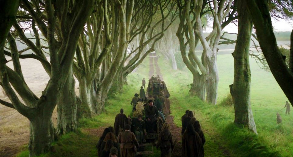 Game of Thrones - Kings Road and the Dark Hedges of Armoy