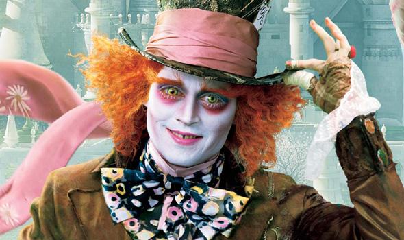 Johnny Depp hates clowns