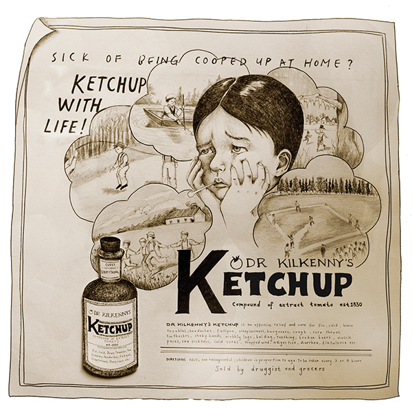 Ketchup was sold in the 1830's as medicine