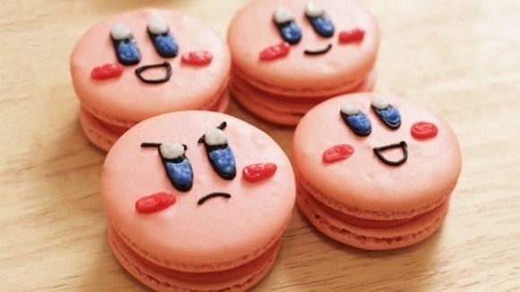 Kirby Macarons